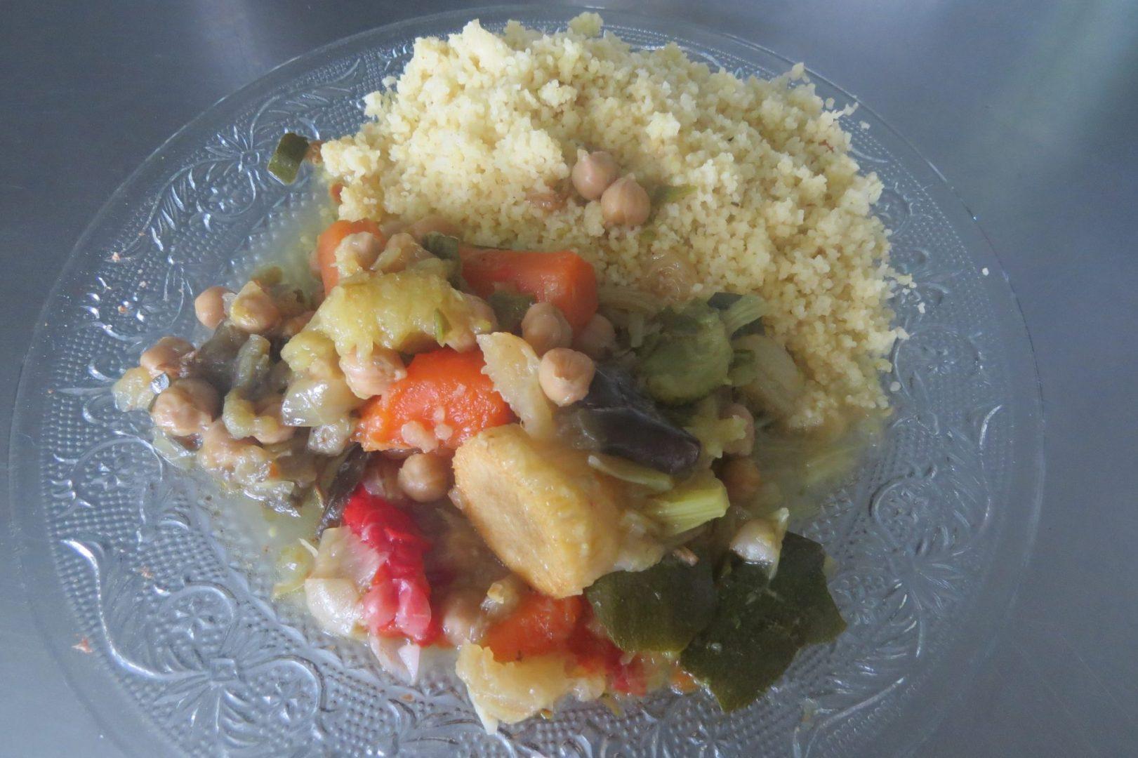 couscous au safran