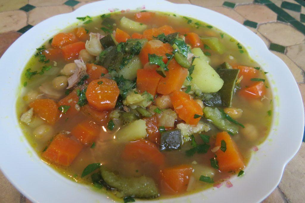 soupe chorba au safran
