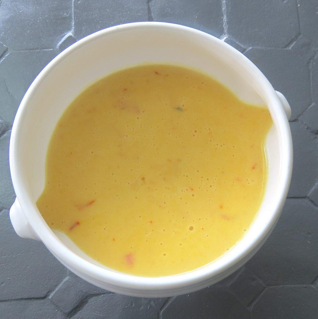 Sauce au safran pour poissons ou viandes