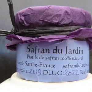 safran pot 0.5 g naturel